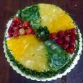 Kiwi dort seželatinou
