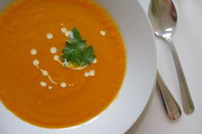 Mrkvová polévka
