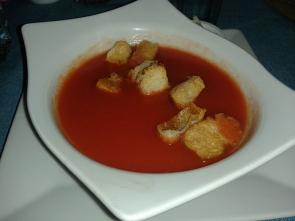 Rajská polévka zprotlaku