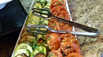 Grilovaná zelenina jako příloha
