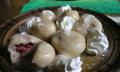 Jahodové knedlíky ztvarohového těsta