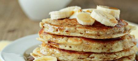 Banánové lívance - recept