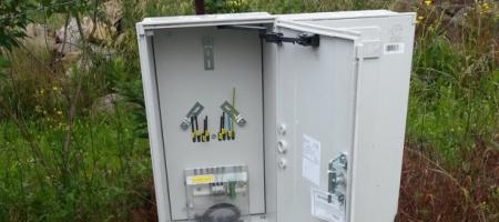Elektrická přípojka