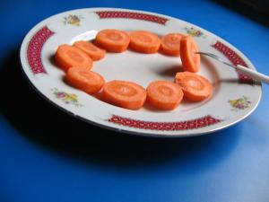 Dušená mrkev